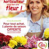Cet automne, votre horticulteur vous fait une fleur !