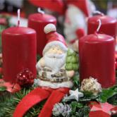 Noël approche, découvrez nos couronnes de l'Avent !